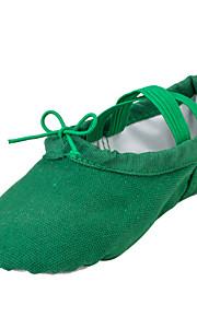 Zapatos de baile(Verde) -Ballet-No Personalizables-Tacón Plano