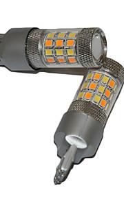 2017 nye bil førte baglygter 100w t20 LED pære med røde bremse lys og hvid backup lys