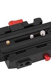 kamera stativ monopod p200 qr aluminiumslegering klemme plade adapterquick overgang til Manfrotto 501 500Ah 701hdv 503hdv Q5