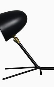 60 Moderno/ Contemporâneo Luminária de Escrivaninha , Característica para LED , com Pintado Usar Interruptor On/Off Interruptor