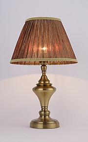 60 Rústico Luminária de Escrivaninha , Característica para Proteção para os Olhos , com Latão Antigo Usar Interruptor On/Off Interruptor