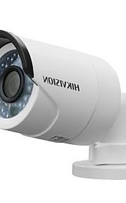 hikvision® ds-2cd2052-i 5MP ir bullet netwerk camera (30m ir IP66 waterdichte DC12V & poe dual stream ir-cut)
