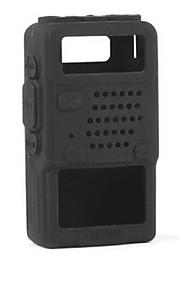caso della copertura di protezione completa morbido silicone resistente compatto per la serie Baofeng UV-5R radio due walkie talkie