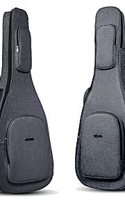 ammattilainen Laukut ja kotelot Korkeatasoisia Guitar Akustinen kitara Sähkökitara New Instrument Nylon Musical Instrument Varusteet Musta