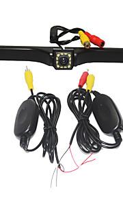 Parkeringshjælp systemet trådløs bil bakkamera auto 12LED ccd 1080p hd ede vende universel backup kamera vandtæt nattesyn