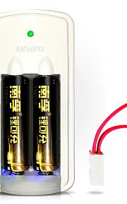 nffu nf-LC1 batería de litio aa 1.5v 750mAh 3 pack
