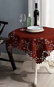 Andra Broderad Dukar , Polyester/Bomull Blandning MaterialHotell Matbord Bröllopsfest dekoration Bröllop Bankett Juldekor favör Tabell