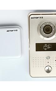 actop wifi video dørtelefon dør kamera trådløse dørklokke interfone med RFID kortlæser til dør adgang sikkerhed
