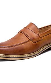 mocassins pour hommes&Fourreaux chaussures club printemps automne chaussures formelles mariage bureau extérieur