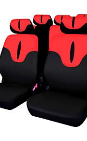 Gris Rojo Azul Cubre asientos Doble(33*33*15cm)Poliéster Lavable