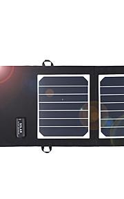 elegeek foldning SunPower 7w solpanel oplader høj effciency soloplader til mobil
