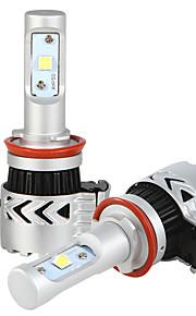 H11 36w/2pcs 7200LM LED HEADLIGHT KIT HIGH Or LOW BEAM Or FOG CAR 4wd