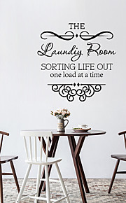 Wall Stickers Wall Decals Style The English Words & Quotes PVC Wall Stickers