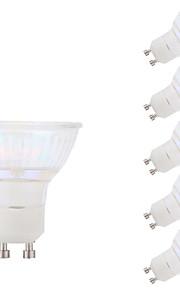 5.5W GU10 Spot LED MR16 1 COB 450 lm Blanc Froid AC 100-240 V 6 pièces