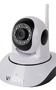 Veskys® 720p hd wi-fi sikkerhed overvågning ip kamera w / 1.0mp smart telefon fjernovervågning