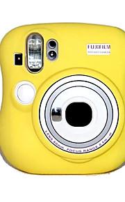 Digitale Camera-Hoes- voorFujifilm-Eén-schouder- met-Geel Roze Blauw