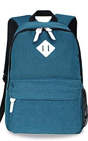 18 tommer computer rygsæk koreansk stil skulder taske vandtæt ren farve unisex