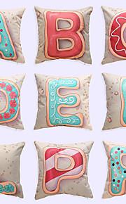 1 pcs Brocade Linen Pillow Case Pillow Cover,Novelty Modern/Contemporary Casual