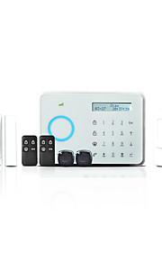 433MHz Tastiera wireless SMS Telefono tastiera del pannello carta di RFID Telecomando a distanza mobile App 433MHz GSM TELEFONOallarme