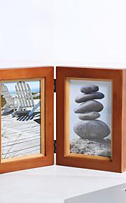 מסגרות לתמונות אגבי רטרו מצחיק,עץ טבעי 1