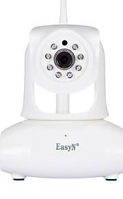 EasyN 2.0 MP Indendørs with Ir-Skåret 128(Dag Nat Bevægelsessensor Dobbeltstrømspumpe Fjernadgang IR-klip Wi-Fi Beskyttet Setup Plug and