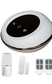 Système d'alarme intelligent wifi gsm système d'alarme maison 433mhz