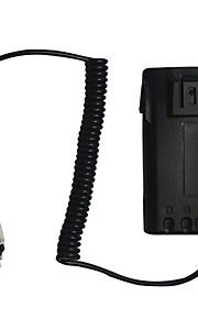 Nieuwe oplader batterij eliminator adapter voor wouxun radio kg-uvd1p kg-uv6d