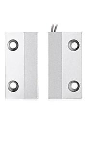 Mc - 56 fenêtres magnétiques métalliques / détecteur de porte magnétique alarme de contact magnétique avec deux fils pour la sécurité de