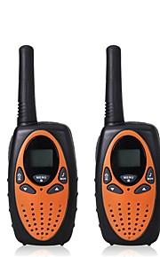 2pcs mini walkie talkie kids radio 1w uhf frequentie draagbare hf transceiver ham radio kids cadeau