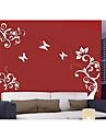 Wall Sticker - Butterfly Flower (0565 - gz033)