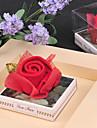 rode roos handdoek bedankje