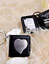 Crom Favoruri Keychain Piece / Set Brelocuri Temă Grădină Negru / Argintiu