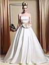 Lanting Bride® Corte en A / Princesa Tallas pequenas / Tallas Grandes Vestido de Boda - Clasico y Atemporal / Elegante y LujosoVestidos