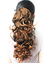"High Quality Synthetic 18.50"" Curly Natural Dark Brown Ponytail"