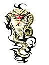 5 st orm vattentäta tillfällig tatuering (6m * 6 cm)