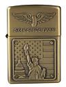 American-Spirit Metal Oil Lighter