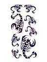 #(5) Tatouages Autocollants Series animales Motif ImpermeableHomme Femelle Adolescent Tatouage Temporaire Tatouages temporaires