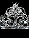 Women\'s Alloy Headpiece-Wedding / Special Occasion Tiaras As the Picture Round