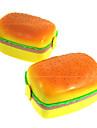 fyrkantiga lådor hamburg härlig barns matlåda dubbla celler fält sushi box
