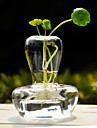 Table Centerpieces Mushroom Design Clear Glass Vase Centerpiece  Table Deocrations