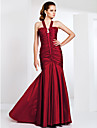 TS Couture® Prom / Formal Evening / Military Ball Dress - Elegant Plus Size / Petite Trumpet / Mermaid Straps Sweep / Brush Train Taffeta