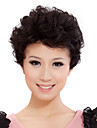 Capless Short Wavy Mixed Hair Cute Wig