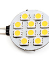 1.5W G4 LED Spot Lampen 10 SMD 5050 90 lm Warmes Weiss DC 12 V