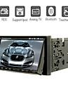 """7 """"2 din lcd touch screen auto lettore dvd nel cruscotto con bluetooth, RDS, ipod-input, atv"""
