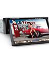 Lecteur DVD de Tableau de Bord, Ecran TFT 7 Pouces 1-DIN avec Bluetooth, Lecteur GPS de Navigation, RDS, Entree iPod, TV