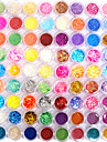 72 Manucure De oration strass Perles Maquillage cosmetique Nail Art Design