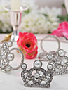 Silver Crown Napkin Rings (Set of 4)