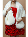 Fur Wraps / Wedding  Wraps Shawls Sleeveless Faux Fur As Picture Shown Wedding / Party/Evening Clasp