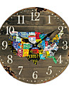 Americaine Horloge murale Pays