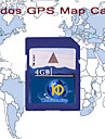 KUDOS GPS Map Card, With 4GB Standard SD Card